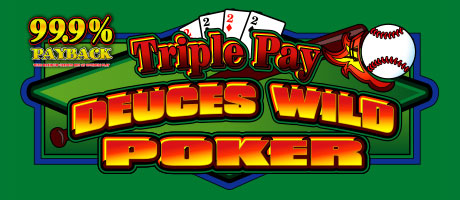 Triple Pay Deuces Wild Video Poker at Station Casinos