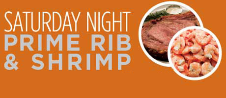 Prime Rib and Shrimp