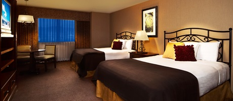 Two Queen beds room at Santa Fe Station Hotel & Casino