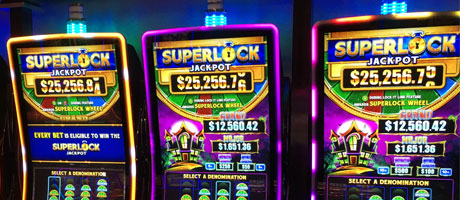 New Las Vegas Slot Machines Summer 2012